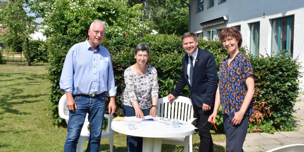 Foto/mm: Günter Möller, Ulrike Michaelis, Stefan Leyk, Petra Rink